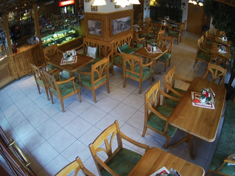 Café Charlotte, Železná Ruda, Czech Republic  Webcam